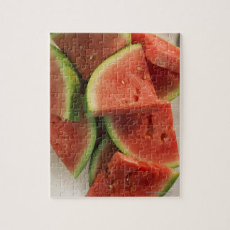 Slices of watermelon puzzles