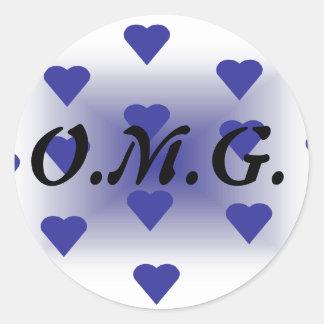 Slide9 Round Sticker