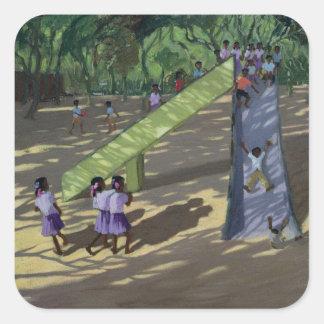 Slide Mysore 2001 Square Sticker