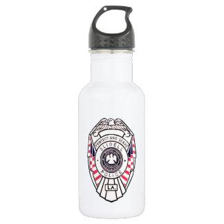 Slidell PD water drink bottle reusable police