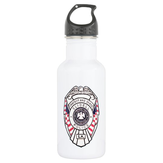 Slidell PD water drink bottle reusable police