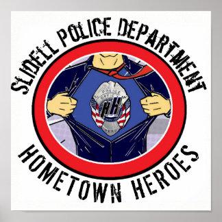 Slidell Police Department Hometown Heroes Poster