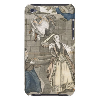 Slight of Hand by a Monkey or the Lady's Head Unlo iPod Touch Case-Mate Case