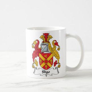 Sligo Family Crest Basic White Mug