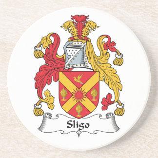 Sligo Family Crest Beverage Coasters