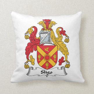 Sligo Family Crest Throw Pillows