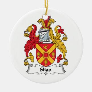 Sligo Family Crest Ornaments