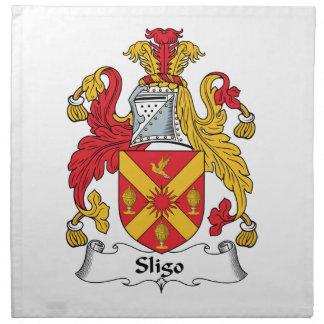 Sligo Family Crest Cloth Napkins