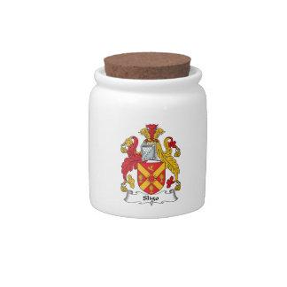 Sligo Family Crest Candy Jar