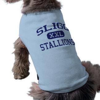 Sligo Stallions Middle Silver Spring Pet Shirt