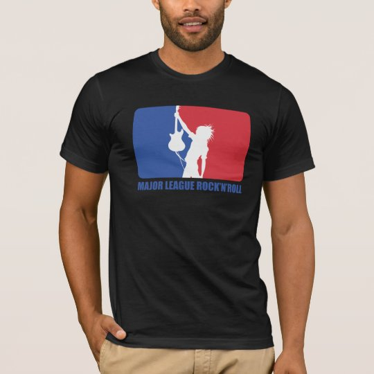 Slim fit - MAJOR LEAGUE ROCK'N'ROLL T-Shirt