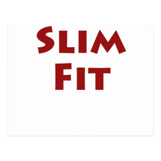 Slim Fit Postcard