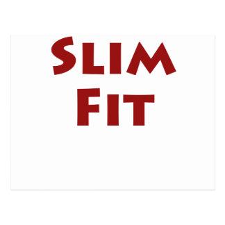 Slim Fit Postcard
