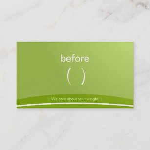 Weight loss business cards business card printing zazzle uk slim fitness body weight loss personal trainer business card colourmoves