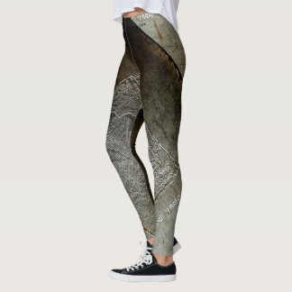 Slim Line  Grunge 3 Leggings