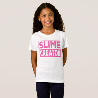 Slime Creator Shirt for Girls