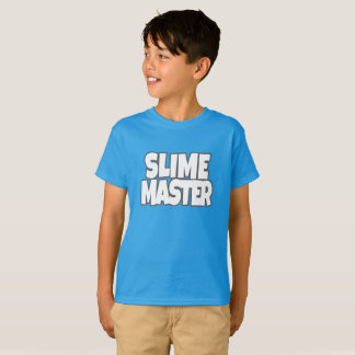 Slime Master Shirt for Boys