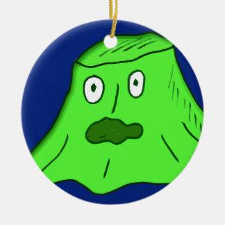 slime Monster Christmas Ornament