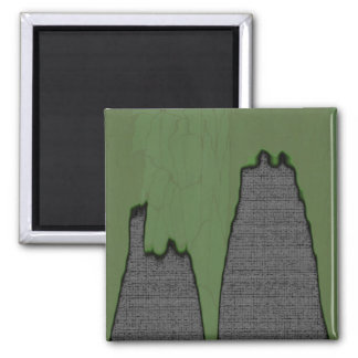 Slime Wall Square Magnet