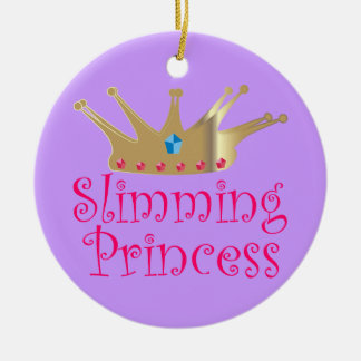 Slimming Princess Christmas Ornament