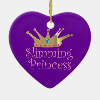 Slimming Princess Christmas Ornament