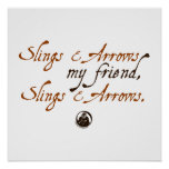 Slings and Arrows Posters
