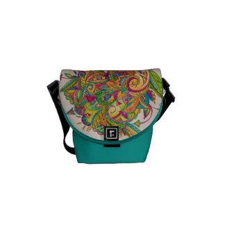 slings & arrows mini messenger bag