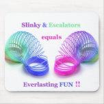 Slinky Everlasting Mousepad