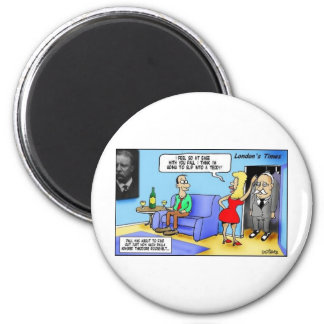 Slip Into A Teddy..Roosevelt Funny Gifts Mugs Etc Magnets