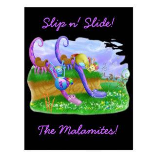 Slip n' Slide! Postcard