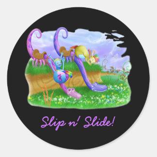 Slip n' Slide! Sticker