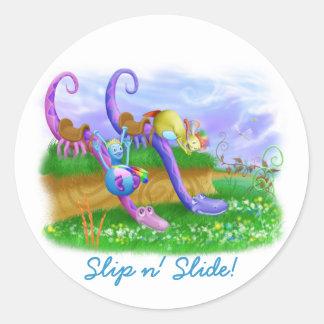 Slip n' Slide! Stickers