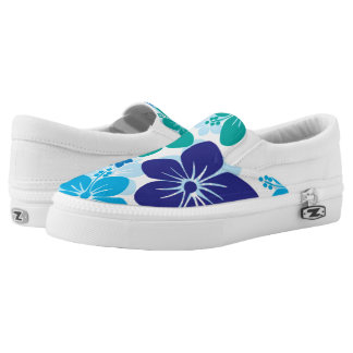 Slip On Shoes/Flowers Printed Shoes