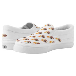 Slip On Shoes/Football Printed Shoes