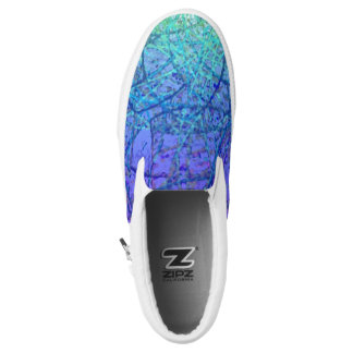 Slip On Shoes Grunge Art Abstract