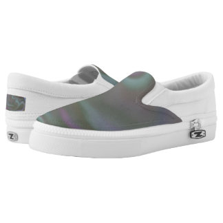 Slip on Shoes with colourful tie dye