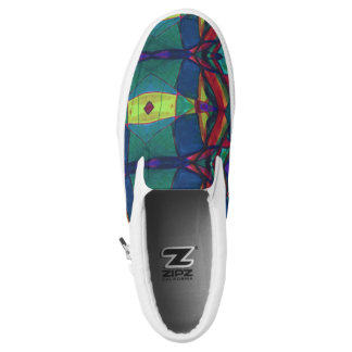 Slip On Sneaker -Abstract