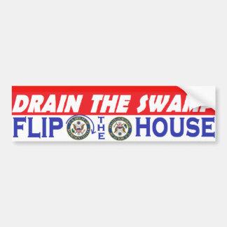 Slip The House Bumper Sticker