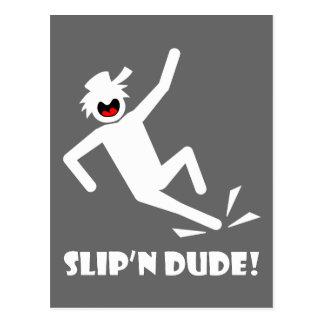 SLIP'N DUDE 12 POSTCARD