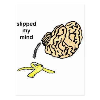 Slipped my Mind Postcard