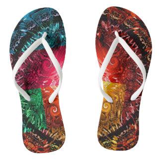 Slipper Universe Flip Flops