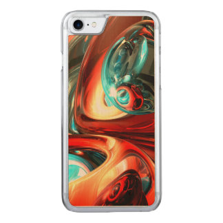 Slippery Abstract Carved iPhone 8/7 Case