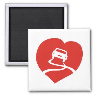 Slippery Love Sign magnet