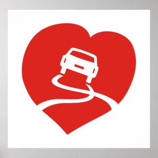 Slippery Love Sign poster