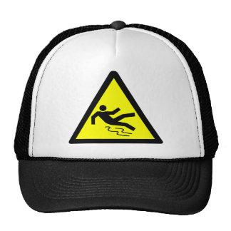 Slippery Surface Warning Cap