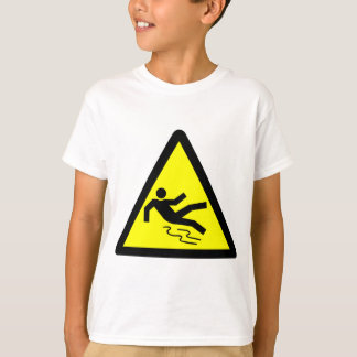 Slippery Surface Warning T-Shirt