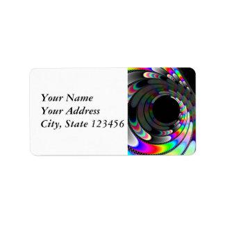 Slipping Away Address Label
