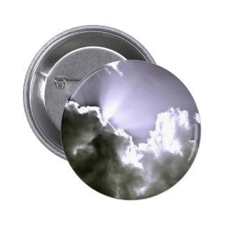 Sliver Sunburst 6 Cm Round Badge