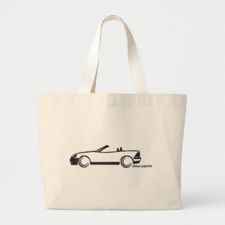 SLK Top Down Large Tote Bag