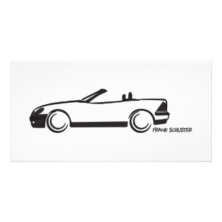 SLK Top Down Personalized Photo Card